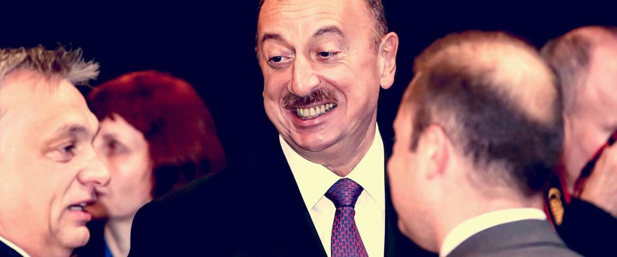 6 times Ilham Aliyev Lied in front of the nation