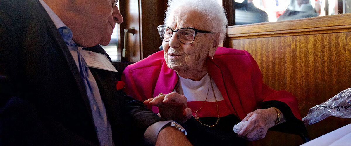 Lucy Mirigian The oldest resident in San Francisco